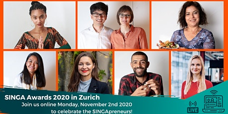 SINGA Awards Zurich: Inclusive Entrepreneurship 2.0! Tickets