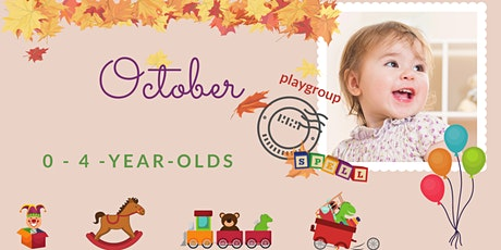 English speaking playgroup 0 - 4 years old ingressos