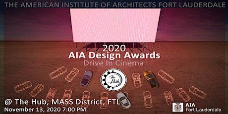 2020 AIA Fort Lauderdale Design Awards General Admission billets