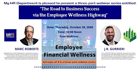 The Road to Business Success via the Employee Wellness Highway- PART 3 tickets