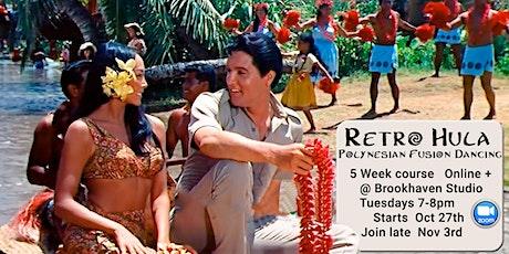 Retro Hula Dance - Join late tickets