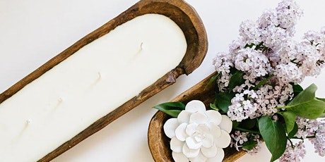 New! DIY Dough Bowl Soy Candle Workshop tickets