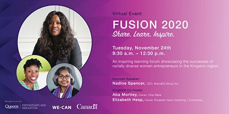 FUSION 2020 for Women Entrepreneurs tickets