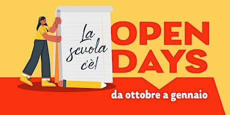 Open day Scuola Secondaria di primo grado La Traccia 2020/21 biglietti