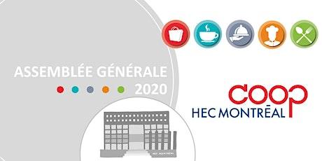 Assemblée générale - Coop HEC Montréal billets