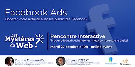 Booster votre activité avec les publicités Facebook | LMDW billets