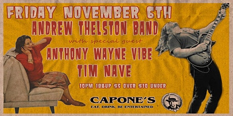 Andrew Thelston Band with Anthony Wayne Vide and Tim Nave
