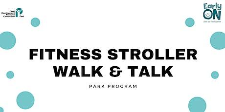 PARK PROGRAM - Fitness Stroller Walk & Talk tickets