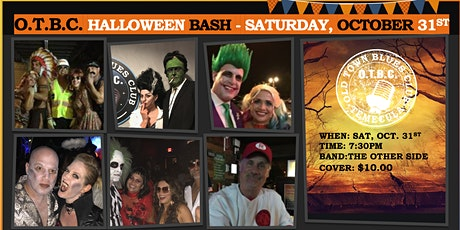 Old Town Blues Club Halloween Bash-2020 tickets