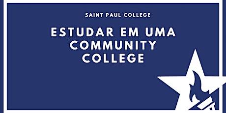 [Online] Estudar em uma Community College com Saint Paul College ingressos