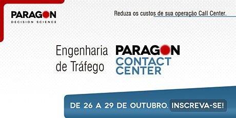 Treinamento Online: Eng. de Tráfego: Contact Center - 26 a 29 de Outubro ingressos