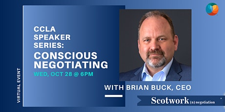 CCLA Speaker Series - Conscious Negotiating with Scotwork tickets