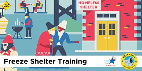 NOLA Ready Intro to Emergency Freeze Shelter Volunteer Training (STR 200) tickets