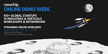 Newchip Accelerator Online Demo Week - November 2020 tickets