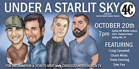 Under a Starlit Sky tickets