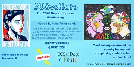#USvsHate Fall 2020 Meetups tickets