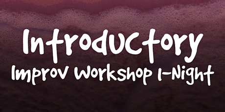 1-Night Only Introductory Improv Workshop tickets