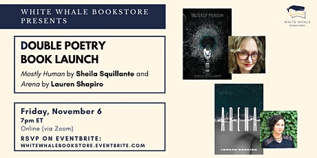 Double Poetry Book Launch: Sheila Squillante & Lauren Shapiro tickets