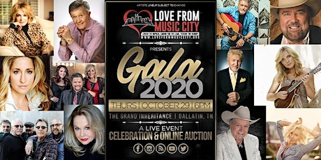 Love from Music City Virtual Gala and Online Silent Auction  tickets