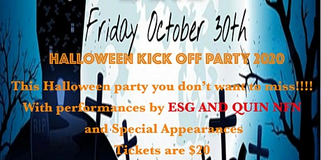 HALLOWEEN KICK-OFF PARTY 2020 tickets