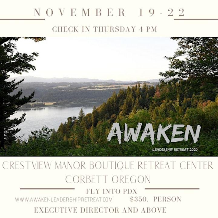 Awaken Leadership Retreat 2020 image