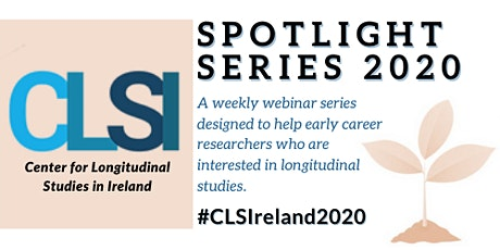 Week 3: Insights into Longitudinal Methodology:What Analyses are Available? tickets