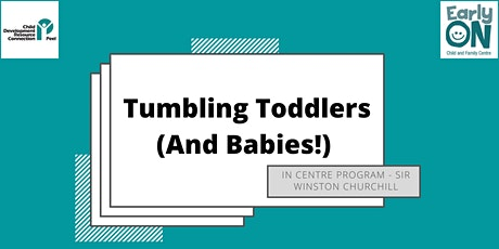 IN CENTRE PROGRAM - Tumbling Toddlers and Babies! (Birth to 3 years)