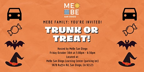 MeBe San Diego Trunk or Treat tickets