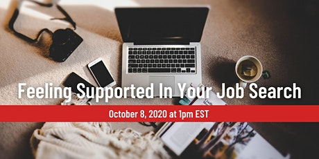 Feeling Supported in Your Job Search, a free webinar with Agathe Lerolle tickets