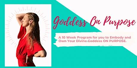 Goddess On Purpose tickets