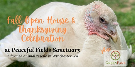 Fall Open House + Thanksgiving at Peaceful Fields Sanctuary! tickets