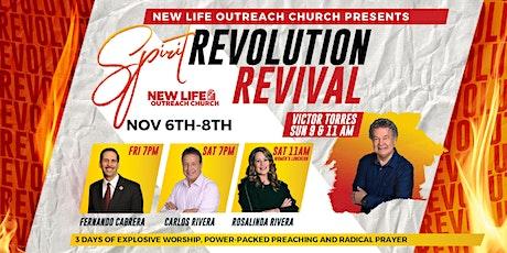Spirit Revolution Revival tickets