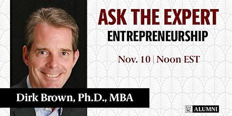 Ask the Expert: Entrepreneurship