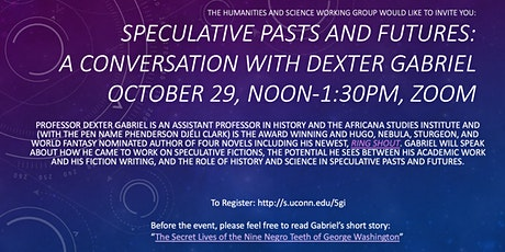 Speculative Pasts and Futures: A Conversation with Dexter Gabriel tickets