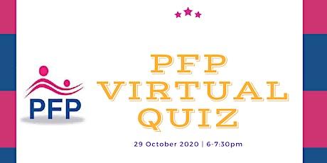 PFP's virtual quiz tickets