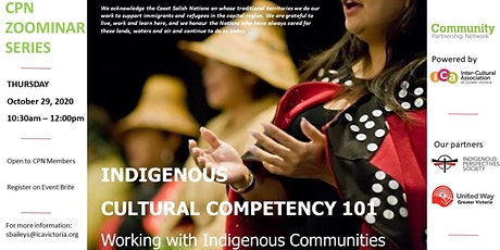 CPN Zoominar: Indigenous Cultural Competency 101 tickets