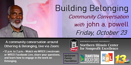 10.23 Community Conversation on Othering & Belonging with john a. powell tickets