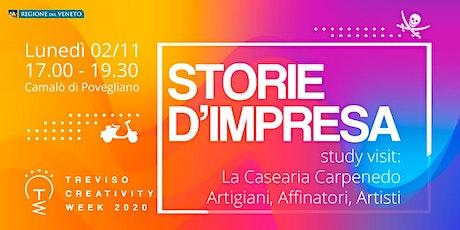 Study visit presso La Casearia Carpenedo: Artisti del Formaggio biglietti