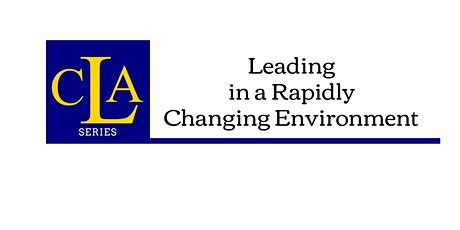 Leading in a Rapidly Changing Environment tickets