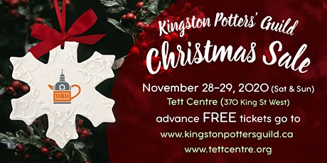 Kingston Potters Guild Christmas Sale 2020 tickets