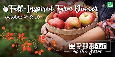 Fall-Inspired Farm Dinner tickets