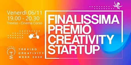 Finalissima Premio Creativity Startup 2020 biglietti