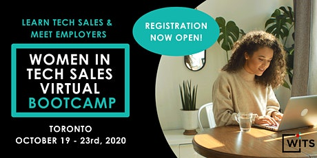 Women in Tech Sales Bootcamp (Virtual) - October 2020 tickets