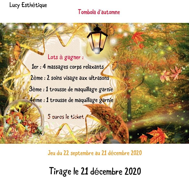 Image pour Tombola d'automne 2020 - Lucy Esthétique