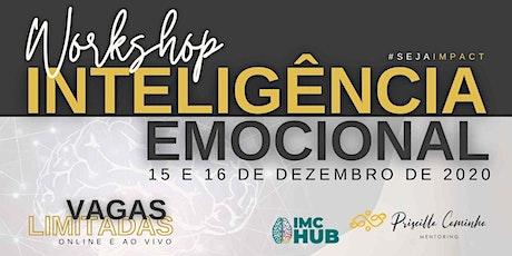 Workshop Inteligência Emocional bilhetes