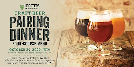 Hopsters Seaport Four-Course Craft Beer Pairing Dinner tickets