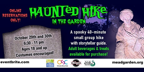 Haunted Hike in the Garden tickets