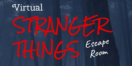Stranger Things Escape Room tickets