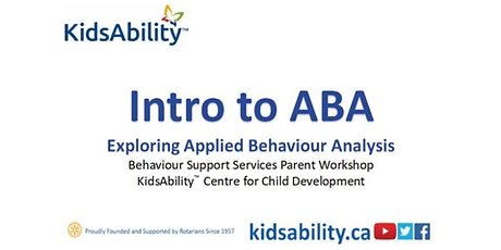 Intro to ABA (Applied Behaviour Analysis)- Virtual Workshop tickets