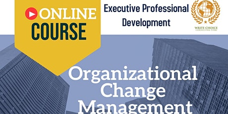 Organizational Change Management biglietti